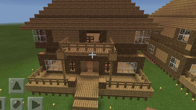 chế tạo cửa trong minecraft